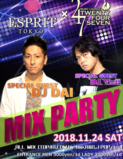 2018.11.24MIXPARTY
